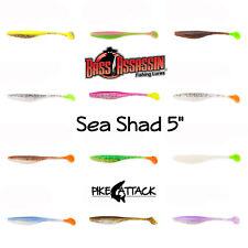 """Bass Assassin sea Shad 5"""" softbait/goma cebo 13 cm/8 trozo"""
