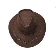 AUSTRALIAN COWBOY MENS STYLE BROWN HANDMADE FELT HAT