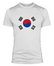 La Corée Du Sud Drapeau T-shirt football pays nation équipe Coupe du Monde Hommes Lady Kid L254