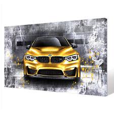 Leinwandbild Canvas Print Wandbild Auto BMW X3 Nr HW2506