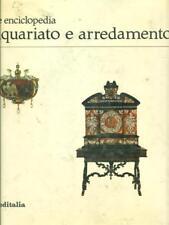 GRANDE ENCICLOPEDIA ANTIQUARIATO E ARREDAMENTO ANTIQUARIATO VITTORIO DEL GAIZO.