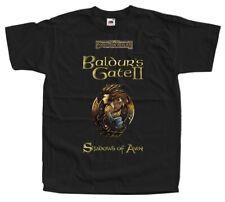 Baldur's Gate II: Shadows of Amn, COMPUTER GAME, T-Shirt (BLACK) All sizes S-5XL