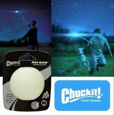 Juguete Chuckit MAX GLOW Ball Puppy noche para perros cabe lanzadores - 3 tamaño