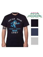 Mens Pixelated Mega Man Short Sleeve Graphic T-Shirt