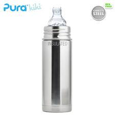 Pura Kiki ISO-Flasche - 250ml - XL Trinklernaufsatz (inkl. Schutzkappe)