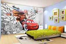 3D Autos und Flugzeuge 36 Fototapeten Wandbild Fototapete BildTapete Familie