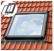 VELUX Dachfenster-Eindeckrahmen EDZ 2000 Aluminium grau +BDX Dämm-& Anschlussset