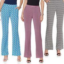 "$99.00 Nikki by Nikki Poulos ""Marta"" Printed Pants 472162(470502)J (M&L) $34.90"