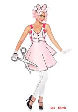 Sexy Completo Costume Paper Doll Bambola di Carta Carnevale Feste Party GLAMOUR