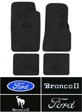 1984-1990 Ford Bronco II Floor Mats - 4pc - Cutpile