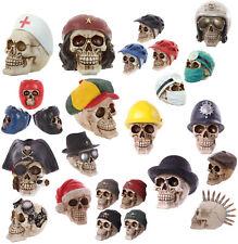 D26-Novelty Halloween Decoración Multi Sombrero temática fiunky Diseño Calavera Ornamento