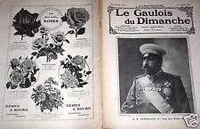 LE GAULOIS DU DIMANCHE 1908 N° 43 TSAR DES BULGARES