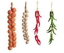 Best Artificial Onion Garlic Red Green Chilli Vegtable Kitchen Hanging String