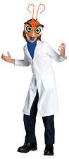 Monster Vs Alien Doctor Cockroach Child Costume Lab Jacket Halloween Fancy Dress