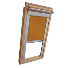 Verdunkelungsrollo Thermo Dachfensterrollo für Velux GGU/GPU/GHU - gelb