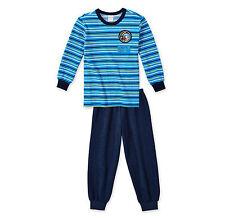 SCHIESSER Jungen Schlafanzug SPACE Pyjama lang Gr. 104 116 128 140 Nachtwäsche