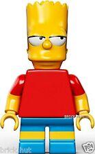 LEGO THE SIMPSONS-Bart Simpson figura + regalo gratuito-V.RARE - BESTPRICE-NUOVO