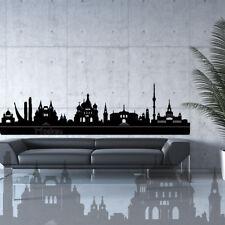 Wandtattoo Wandaufkleber Skyline Stadt Moskau Russland capital town russia +352+