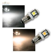 E10 LED-Schraubsockel Birne Leuchtmittel, 12V DC, Lampe, SMD LED Glühbirne POWER