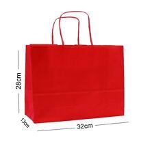 Rojo Paisaje Papel Grande Bolsas de Regalo Fiesta ~ Tienda Boutique Mochila