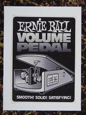 F / Hecho A Mano tarjeta de saludos Con Tema Musical Ernie Ball Volumen Pedal
