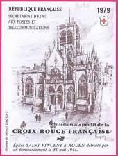 FRANCE CARNET CROIX ROUGE 1979  NEUF xx TTB