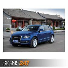 AUDI Q5 3.0 TDI QUATTRO CAR 6 (AC907) CAR POSTER - Poster Print Art A0 A1 A2 A3