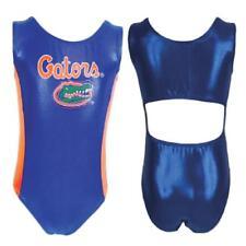 NWT Foxy's University of Florida Gator College Foil Open Back Gymnastics Leotard