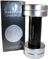 DAVIDOFF CHAMPION BY DAVIDOFF 1.7/1.6 OZ EDT SPRAY FOR MEN NEW IN BOX