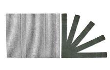 Standard Black Jumbo 100/180 Grit Washable Cushioned Beauty Salon Spa Nail Files