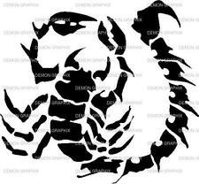 Scorpion vinyl decal/sticker window laptop racing spider arachnids