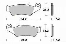Jeu 2 plaquette de frein Avant de qualité HM CRE 450 F/SM SUPER MOTARD 2003-2004