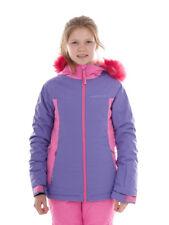 O'Neill Skijacke Winterjacke Snowboardjacke Felice pink Kunstfell Logo