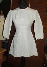 Superbe petite robe de demoiselle d'honneur vintage - linge ancien, mariage
