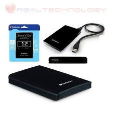 "HARD DISK ESTERNO 2,5"" 1TB VERBATIM USB 3.0 2.0 AUTOALIMENTATO 1000GB STORE N GO"