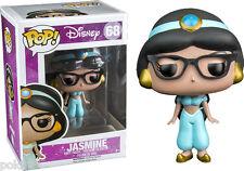 Aladdin pop! disney Vinyl Figürchen Jasmine Nerd (hipster) 10 cm Funko Figur 68