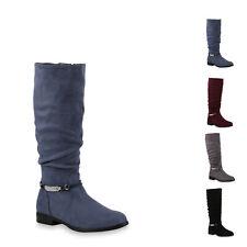 895882 Klassische Stiefel Damen Schuhe Boots Profilsohle Winterstiefel New Look
