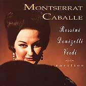 Rossini/Verdi/Donizetti -  Montserrat Caballe - rossini 2CDs - Used GD60941