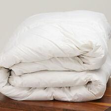 LUSSO 100% puro bianco Ungherese piuma d'oca piumone trapunta letto singolo Taglia 4.5 Tog