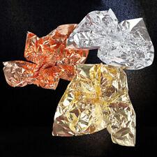 14x14cm Gold Silber Kupferfolie Papier Blatt Blätter Gleiten Kunst DIY Basteln
