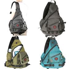 "Men Women Large Laptop Sling Bag Backpack Rucksack School Travel Bag 13"" 15"""""