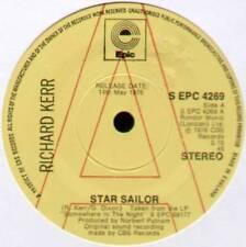 """RICHARD KERR ~ STAR SAILOR / BEST FOR LAST ~ 1976 UK """"PROMO"""" 7"""" SINGLE"""