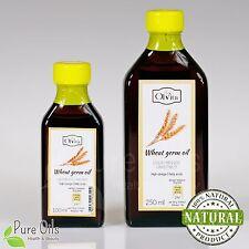 Wheat Germ Oil, cold-pressed, Ol'Vita 100 and 250ml, Olej z kiełków pszenicy