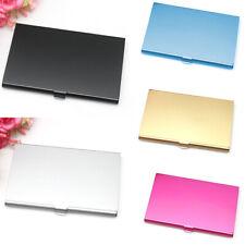 Unisex Aluminum Metal Credit Card Holder Case Protect Storage Box Ladies Men HOT