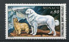 MONACO 1977, timbre 1093, CHIENS des PYRENEES, neuf**