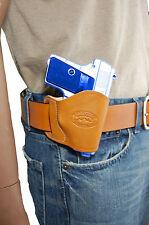 NEW Barsony Tan Leather OWB Yaqui Holster Bersa, Colt Mini-Pocket 22 25 380
