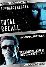 Total Recall / Terminator - Judgment Day Schwarzenegger, Arnold DVD