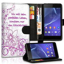 Hülle Flip Cover Handyhülle Etui Case Handy Tasche Schutz Hülle Book MVB-408