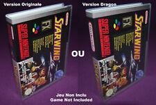 STARWING - Super Nintendo SNES FAH - Universal Game Case (UGC)
