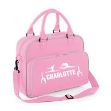 Girls Personalised Gymnastics Kids Dance Bag Sports Kit Bag Gymnast School Bag